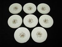 "Set of 8 Lenox ""Starlight"" Bread or Desert Plates -Mint & Never Used"