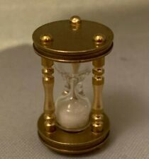 Dolls House Miniature 1/12th Scale Hour Glass Sand Timer D2456