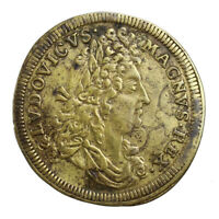 Jeton de Nuremberg Louis XIV Lazare Gottlieb Lauffers 1663-1709