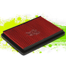 WASHABLE DROP IN PANEL PERFORMANCE AIR FILTER FOR 06-10 JEEP WK/XK/KJ SUV RED