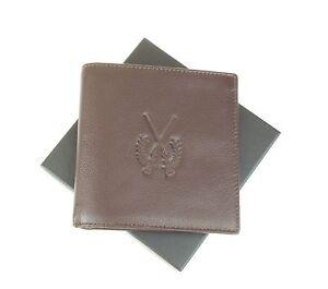 Shotgun & Firearm Certificate Wallet SGC/FAC Licence Holder Premium Leather Sml