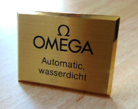 OMEGA AUFSTELLER AUTOMATIC WASSERDICHT I235