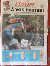 L'Equipe du 10/4/1999 - Avant Paris-Roubaix - Tournoi : France-Ecosse - Coupe