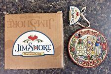 2006 Jim Shore Annual Christmas Ornament Snowman Family 4006133 Enesco Nib