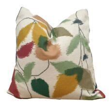 "Scion Akira Berry/Ochre/Pistachio Fabric 18""x18"" (45cm x 45cm) Cushion Cover"