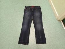 "Levi's Eve Jeans Waist 30"" Leg 32"" Faded Dark Blue Ladies Jeans"