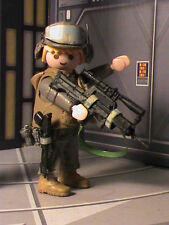 PLAYMOBIL CUSTOM STAR WARS SOLDADO REBELDE 01(ROGUE ONE) REF-0050 BIS