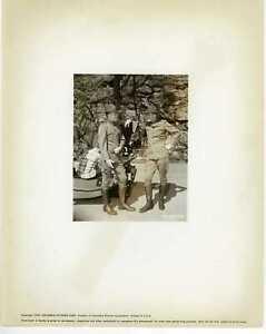 The Long Grey Line 1955 Original Photo - Patrick Wayne Bill Leslie on Set Candid