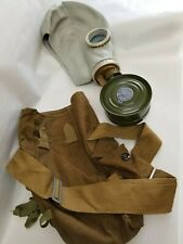 Russian Gas Mask With New Filter And Carrying Bag.