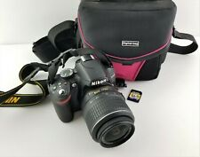 Nikon D D3200 24.2MP Digital SLR w/ AF-S DX VR II 18-55mm Lens + Bag + SD Card