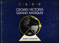1999 Ford Crown Victoria Grand Marquis Wiring Manual 99 Mercury Electrical Book