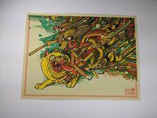 Drew Millward Hong Kong Phooey Mondo Print Poster Tv Classic Bottleneck Art
