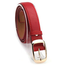 b4ca4ffe4 Hot Womens Lady Paint Leather Alloy Pin Buckle Waist Strap Belts Waistband  Great
