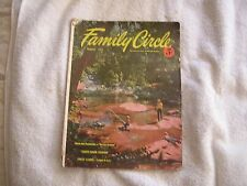 Family Circle Magazine August 1953