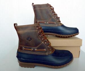New Men`s Sperry Decoy Duck Boots STS13457-60
