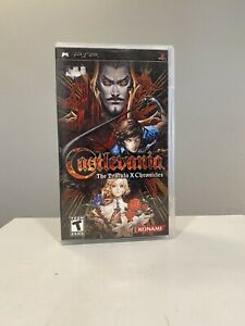 Castlevania: The Dracula X Chronicles (Sony PSP, 2007) Complete - Fast Free Ship