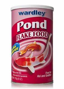 LM Wardley Pond Flake Food 6 oz
