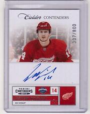 GUSTAV NYQUIST 11/12 Panini Calder Contenders #216 Autograph Auto Rookie #/800