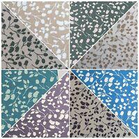 "Floral 100% Cotton Poplin Mono printed fabric 44"" M735 Mtex"