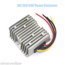 New Waterproof DC Booster Converter Regulator 12V Step Up To 24V 240W 10A Power