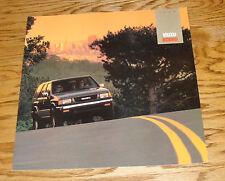 Original 1992 Isuzu Rodeo Deluxe Sales Brochure 92