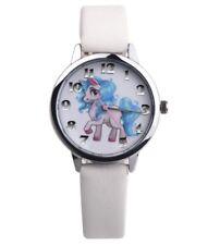 Uhr Armbanduhr Kinderuhr Pferd Einhorn Pony rosa Mädchen weiß silber pink
