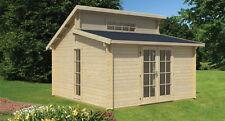 Gartenhaus Rhodos, 415x415 cm, inkl. Fußboden, 40 mm NEU !