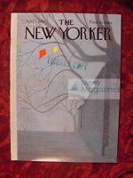 The NEW YORKER April 1 1974 ISAAC BASHEVIS SINGER BERRY MORGAN ROBERT SHAPLEN