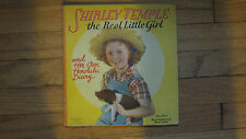 """1938 SHIRLEY TEMPLE STORY BOOK """" THE REAL LITTLE GIRL"""" 15 PAGES-9X10"""