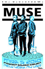 Muse 2010 Tour Poster