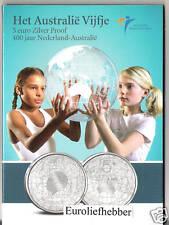 NEDERLAND   Het Australië  Vijfje  5 Euro Zilver Proof