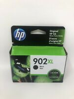 NEW Genuine HP 902XL Black Ink Cartridge T6M14AN, High Yield OEM Exp 2021-2022