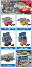 TOMY Disney Pixar Cars 3 Race Track capsule town Gahsapon Figure x5