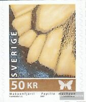 Schweden 2595 (kompl.Ausg.) postfrisch 2007 Schmetterling