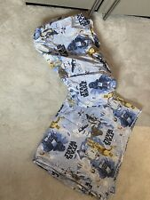 Pottery Barn Kids Star Wars Flat sheet and fitted sheet UK