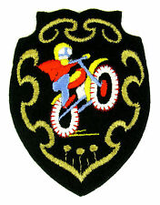 Ecusson brodé ♦ (patch/crest embroidered) ♦ MOTO-CROSS - TRIAL