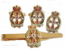 GEMELLI qaranc, badge, Tie Clip Set Regalo
