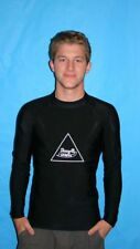 MENS BLACK CYCLING SHIRTS  LONG SLEEVE  SIZE 5X  SUN
