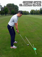 Golf Anti Slice Training Aid