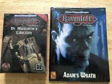 Dungeons & Dragons - Dr. Mordenheim's Laboratory & Adam's Wrath - New/Sealed!!