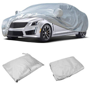 Breathable Car Cover w/MirrorPocket For Lexus LS 2007-2017 For Honda Accord