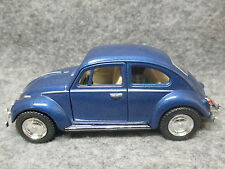 Kinsmart 1:32 Scale Diecast 1967 Volkswagen Classic Beetle Friction Toy Car BLUE