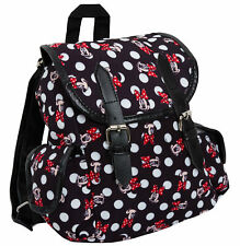 Disney Minnie Mouse De Lujo Duffle Bolsa Mochila Bolso Escolar Roxy Para Mujeres Niñas Niños