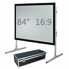 """84"""" Fast fold projection screen, Front and rear, 16:9 HD Fastfold Fixed/framed"""