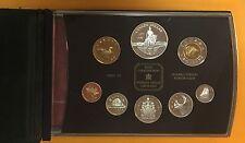 CANADA 1998 ROYAL CANADIEN MINT SET 8 MONNAIES EPREUVE NUMISMATIQUE.