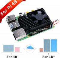 NEW CNC Extreme Cooling Fan Heatsink Kit For Raspberry Pi 4 Model B / 3B Plus