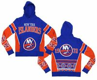 NHL NY Islanders Boys Holiday Ugly Knit Sweater Hoodie Size Youth XL