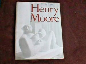 Henry Moore - 1951 Tate Gallery Exhibition Catalogue (Paperback)