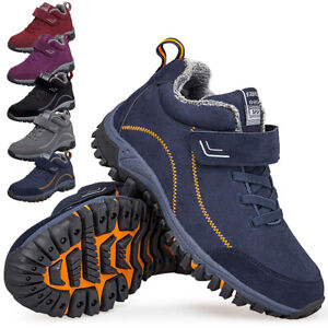 MENS WOMENS HIKING BOOTS WALKING HI TOPS WINTER TREKKING ANKLE TRAINERS SHOES