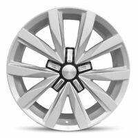 Set Of 2 18 Inch Aluminum Wheel Rims for 2009-2017 VW CC 5 Lug 112mm Silver